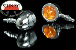 Shin Yo Bullet Pike Lensed Custom Motorcycle Indicators