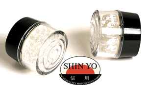Shin Yo 34mm Round Bullet Body Mount LED motorcycle Indicators