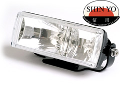 Shin Yo Double Rectangular Motorcycle High Beam and Fog Light