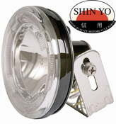 Shin Yo High Beam Motorcycle Headlamp with LED Ring