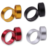 Aluminium Colour Anodised Rings for Shin Yo or Highsider Bar End Weights