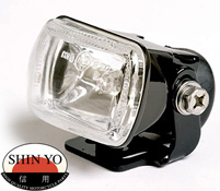 Shin Yo Micro Motorcycle Projector Fog Light in Black