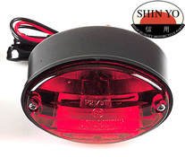 Shin Yo Mini Cat Eye Stop Tail and Number Plate Light