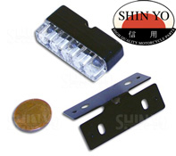 Shin Yo Mini LED License Number Plate Light and Bracket