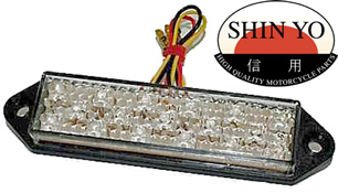 Shin Yo Superflat Rectangular Stop and Tail Light