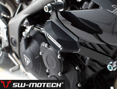 Triumph Speed Triple 1050 SW Motech Frame Slider Kit