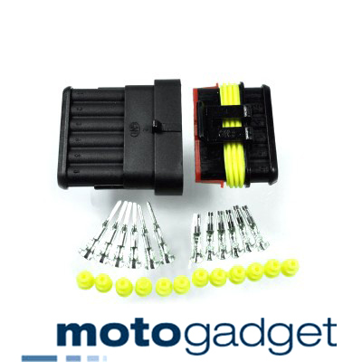 Motogadget Supersealed Connector AMP~Style 6~pin