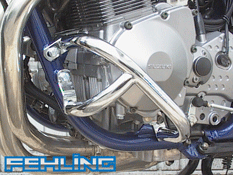 Suzuki GSF600 1996~04 Bandit GSX750 1998~02 Fehling Chrome Crash bars
