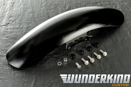 Triumph Bobber Wunderkind Short Front Mudguard in GRP