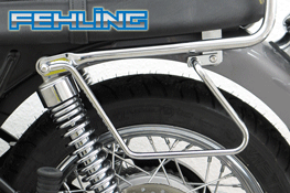Triumph Bonneville T100 865 FEHLING Saddlebag Pannier Support Bars