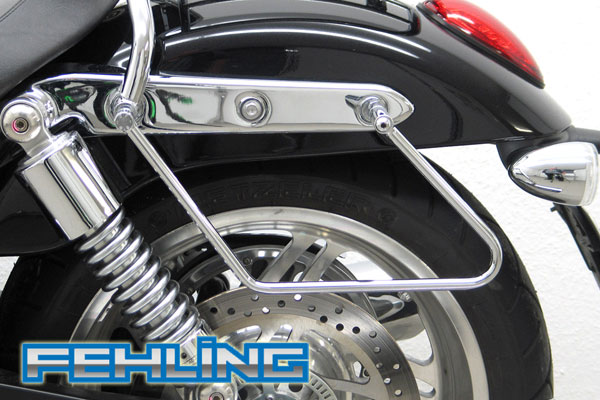 Triumph Thunderbird 1600 and 1700 FEHLING Saddlebag Pannier Support Bars