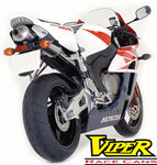 Viper Underseat High Level Exhaust Kits for Honda CBR and Yamaha YZF