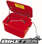 BikeTek 3 and a half Gallon Work Top Motorcycle Parts Washer