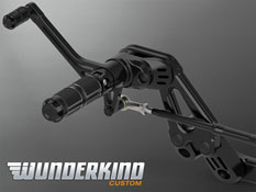 Harley Davidson Softail 2018 onwards Wunderkind Forward Control Footrest Kit