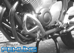 Yamaha XJ600 S Diversion 1993~03 Fehling Chrome Engine Crashbars