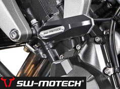 Yamaha FZ1 and FZ6 Fazer SW Motech Frame Slider Kit