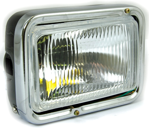 BikeIt Replacement Motorcycle Headlight for Yamaha RD125LC and TZR125