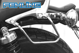 Yamaha VMax 1200 FEHLING Saddlebag Pannier Support Bars