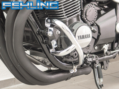 Yamaha XJR1300 and Racer 2015~16 Fehling Chrome Crash bars