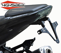 Kawasaki Z800 and Z800e 2013~17 Highsider Tail Tidy Plate Bracket